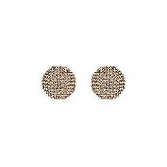 Mikey London - Gold round earring