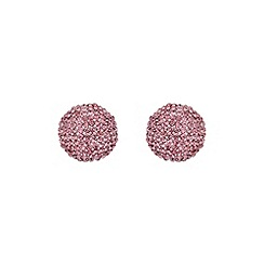 Mikey London - Pink round earring