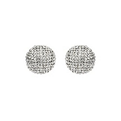 Mikey London - White round earring