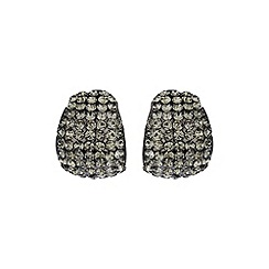 Mikey London - Black curved earring