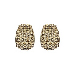Mikey London - Gold curved earring
