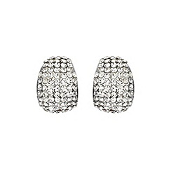 Mikey London - White curved earring