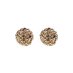 Mikey London - Gold ball stud earring