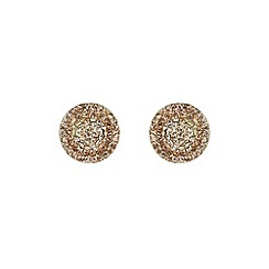 Mikey London - Gold flat hat earring