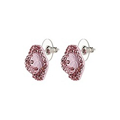 Mikey London - Pink flat hat earring