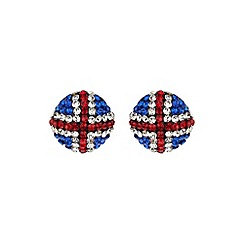 Mikey London - White round british  14mm