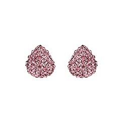 Mikey London - Pink small half moon earring