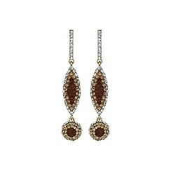 Mikey London - Brown long earring