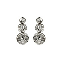 Mikey London - White 3 ball earring