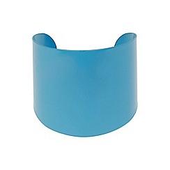 Mikey London - Blue plain cuff bracelet