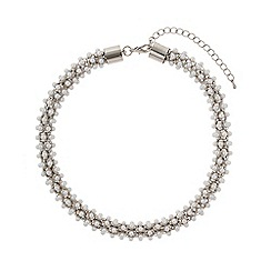 Mikey London - Pearl twisted rope necklace