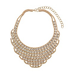 Mikey London - Chain link red indian necklace