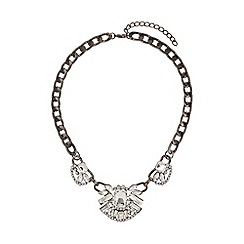 Mikey London - Inca crystal pendant necklace