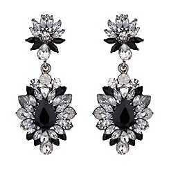 Mikey London - Drop flower crystal earring