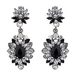Mikey London - Drop flower crystal earring