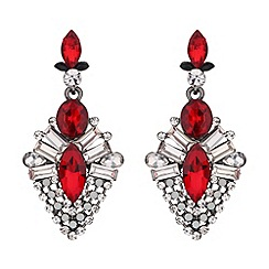 Mikey London - Drop crystal hanging earring