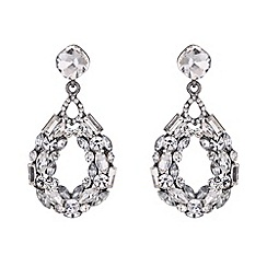 Mikey London - Circle ring crystals earring