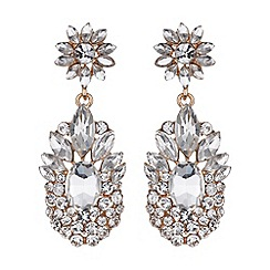 Mikey London - Flower drop filigree flower earring