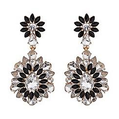 Mikey London - Drop filigree flower earring