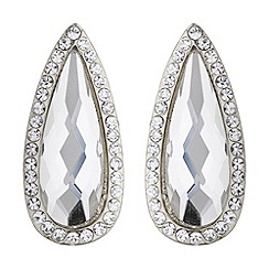 Mikey London - Slim oval marquise stud earring