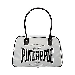 Pineapple - White Stretch Kit Bag
