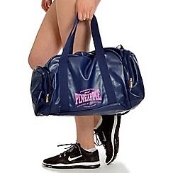 Pineapple - Blue stretch dance bag