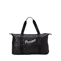 Pineapple - Black quilt retro dance bag