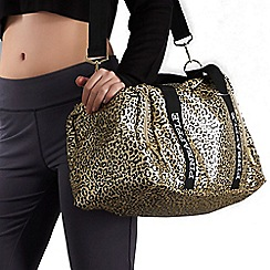 Pineapple - Leopard Print Dancer's Bag