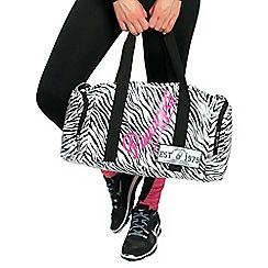 Pineapple - White zebra dance bag