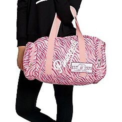 Pineapple - Pink zebra dance bag