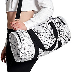Pineapple - Silver studio dance bag