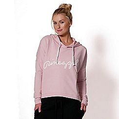 Pineapple - Pink hooded top