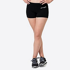 Pineapple - Black classic hot pant