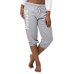 Pineapple - Grey logo long crop trousers