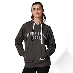 Pineapple - Grey 'COVENT GARDEN LONDON' hooded sweatshirt