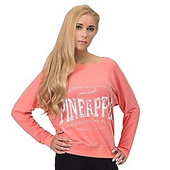 Pineapple - Orange Pineapple long sleeve top