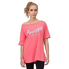 Pineapple - Off shoulder dance t-shirt