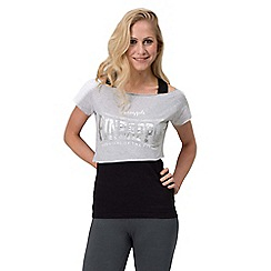 Pineapple - Grey stretch double layer top
