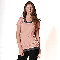 Pineapple - Pink double layer top