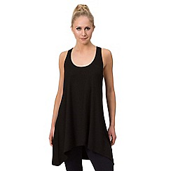 Pineapple - Black viscose vest