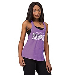 Pineapple - Purple double layer vest