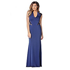 Jessica Wright - Navy 'Rochelle' maxi dress