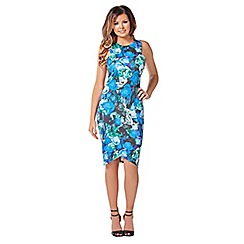 Jessica Wright - Blue 'Jessie' bodycon dress