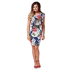 Jessica Wright - Multicoloured 'Kylie' floral midi dress