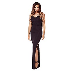 Jessica Wright - Black 'Audrina' maxi dress