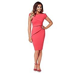 Jessica Wright - Pink 'vicky' midi dress
