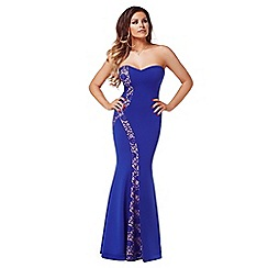 Jessica Wright - Blue 'Diana' maxi dress
