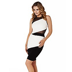 Lipstick Boutique - Black 'Katrina' body-con dress