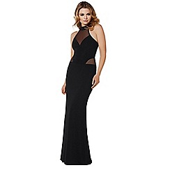 Lipstick Boutique - Black 'Nivanna' maxi dress