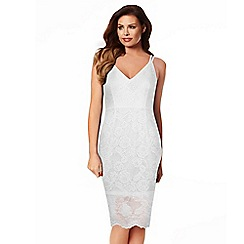 Jessica Wright - White 'Hazel' lace dress
